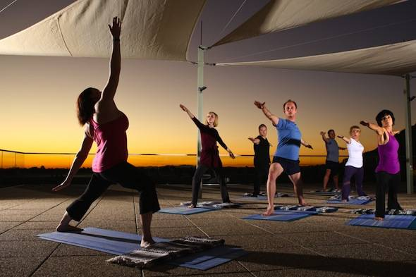 Valley-Ho-Spa-Rooftop-Yoga