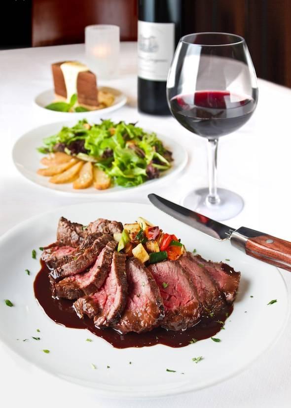 Fleming's Winter Menu Bistro Steak