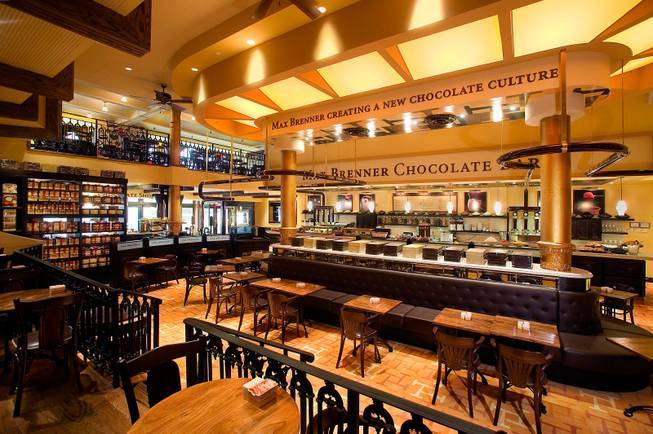Max Brenner Chocolate Bar New York