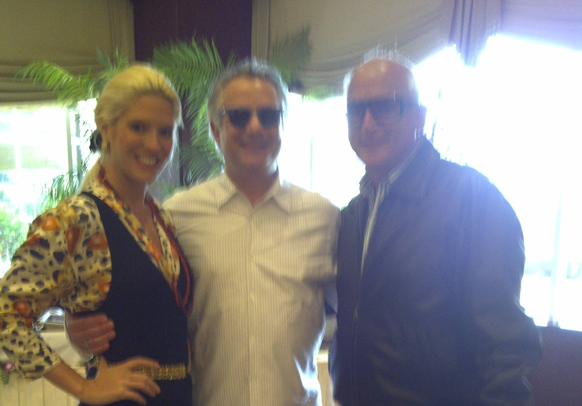 sonia kevin richard levy emerson alumnis brunch in boca 30 1 11