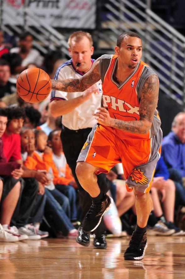 10th-Annual-Celebrity-Shootout-Phoenix-Suns-Chris-Brown