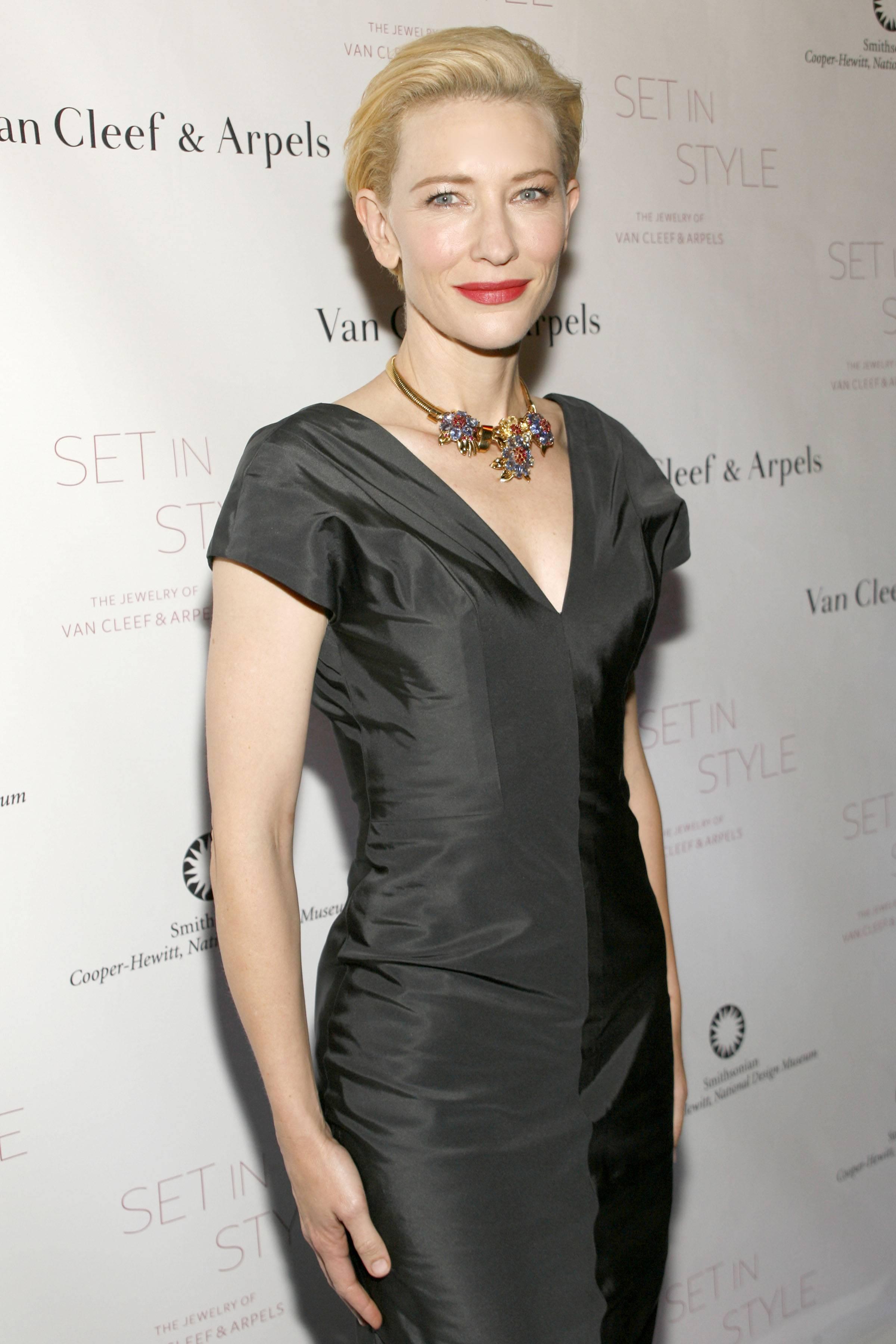 Cate Blanchett at Van Cleef & Arpels