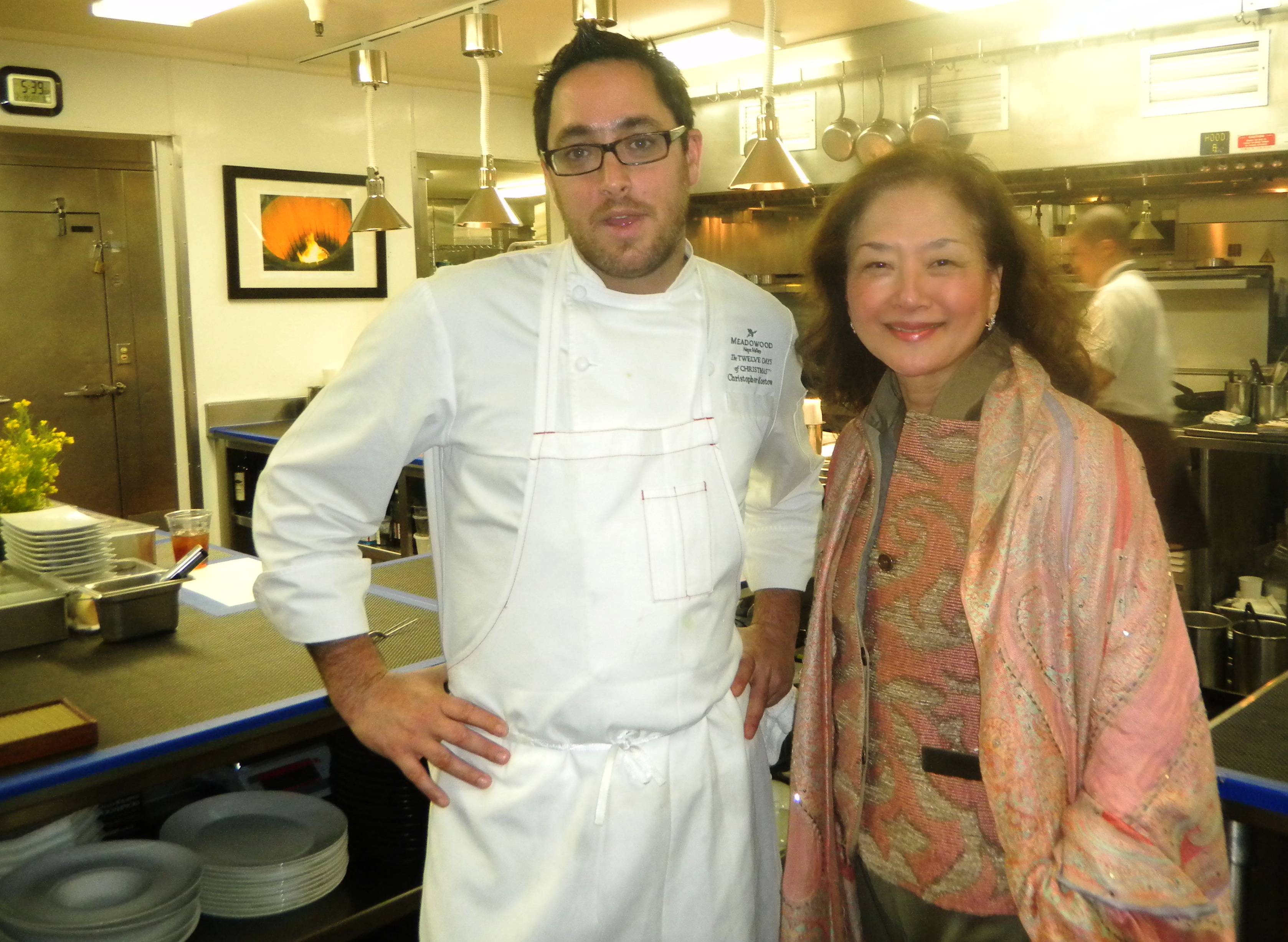 3 star michelin chef christopher kostow at meadowood