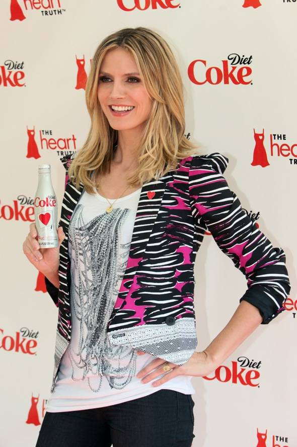 Diet Coke Heart Truth Launch Event