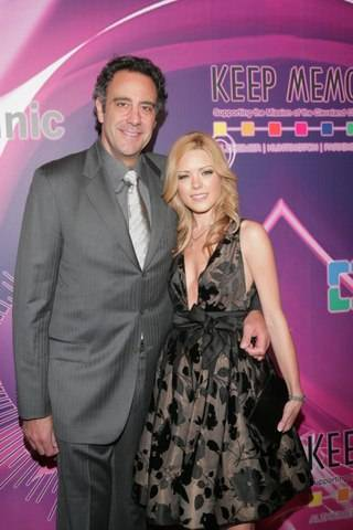 Brad Garrett and IsaBeall Quella at Keep Memory Alive Power of Love Gala_2_26_11