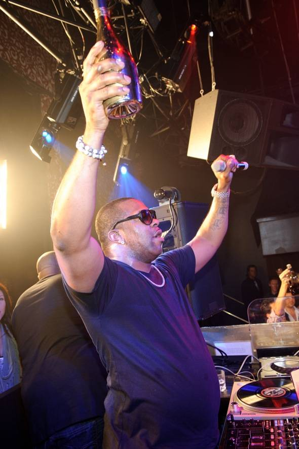Busta Rhymes performs at TAO