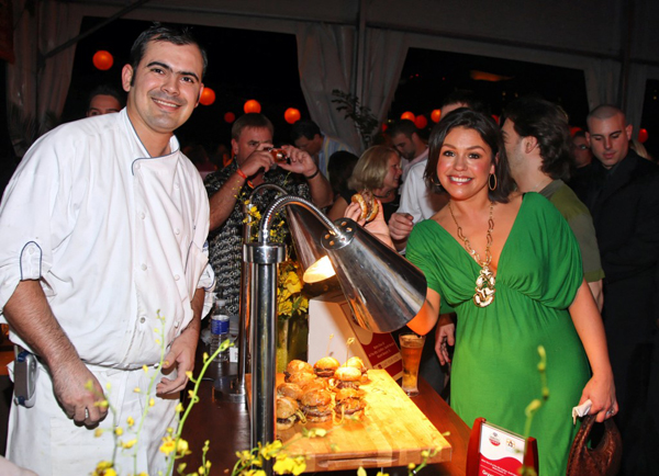 chef oscar vides rachel ray ritz carlton south beach wine & food festival
