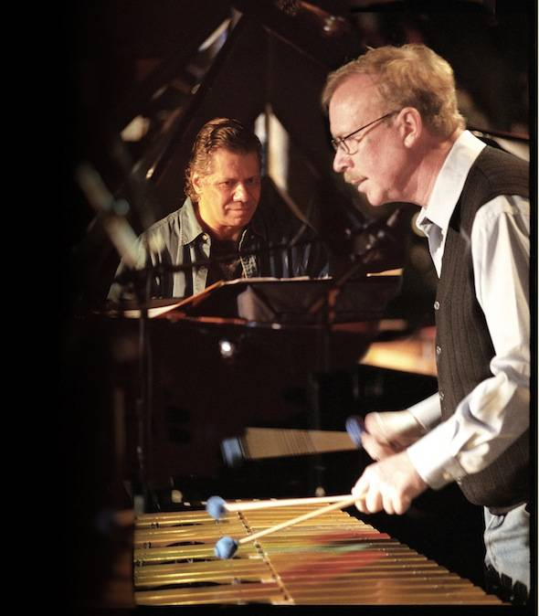 Chick Corea and Gary Burton (c) C. Taylor Crothers