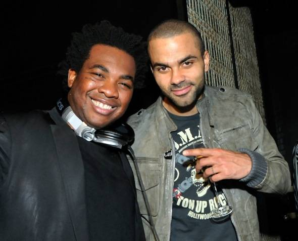 DJ Reach and Tony Parker at LAVO LV