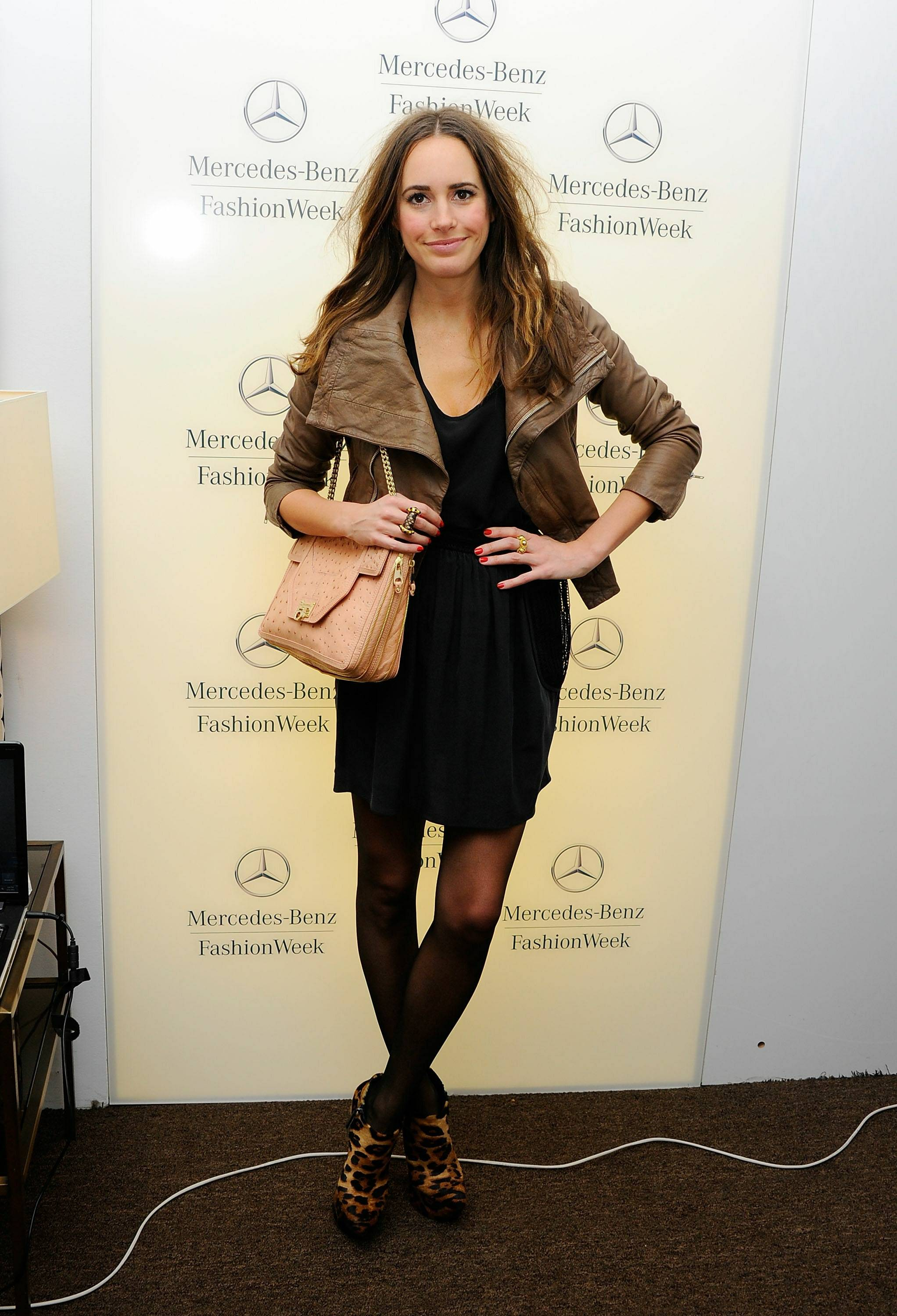 Louise Roe inside the star lounge