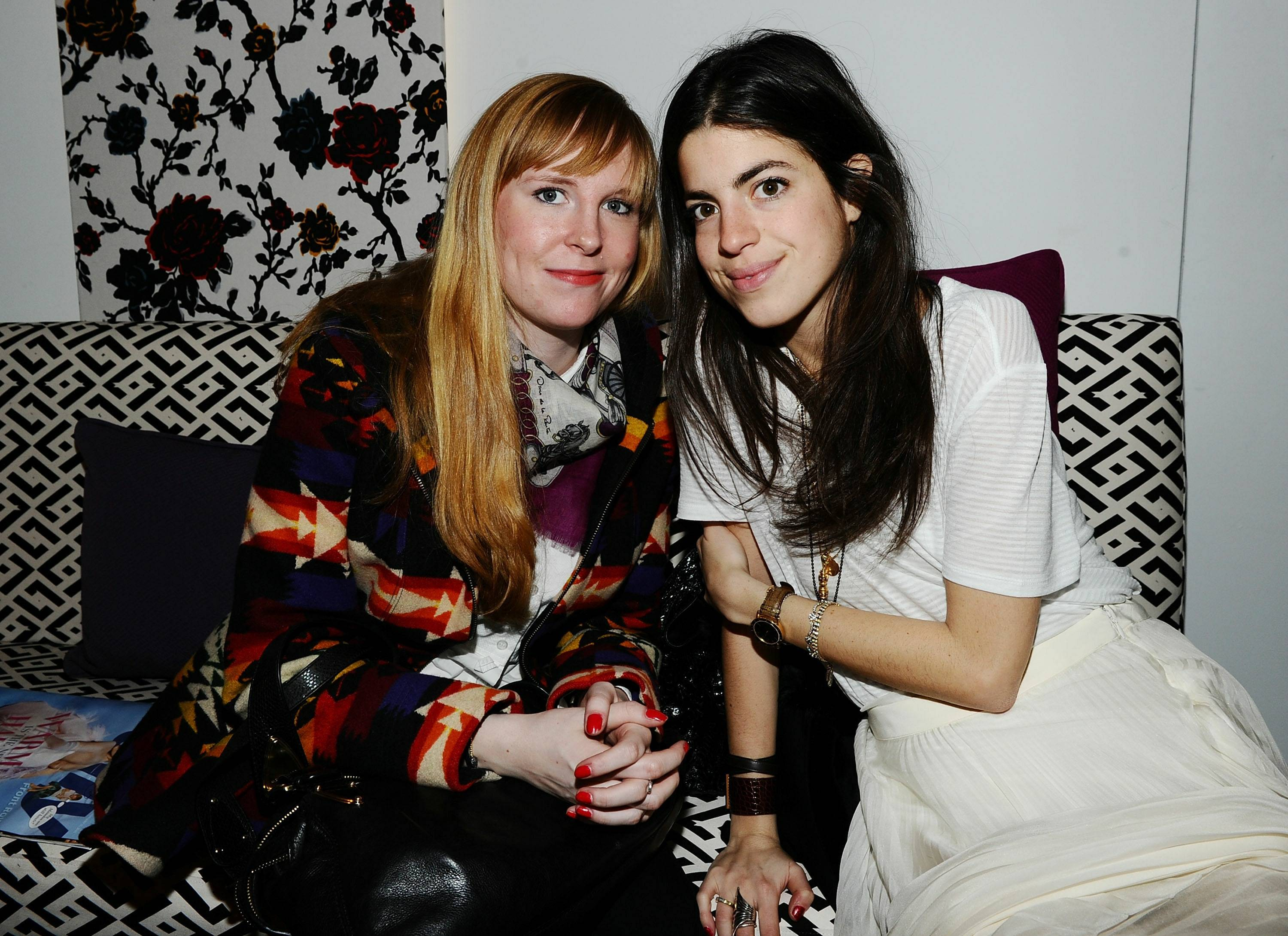 Emily Krop and Leandra Medine
