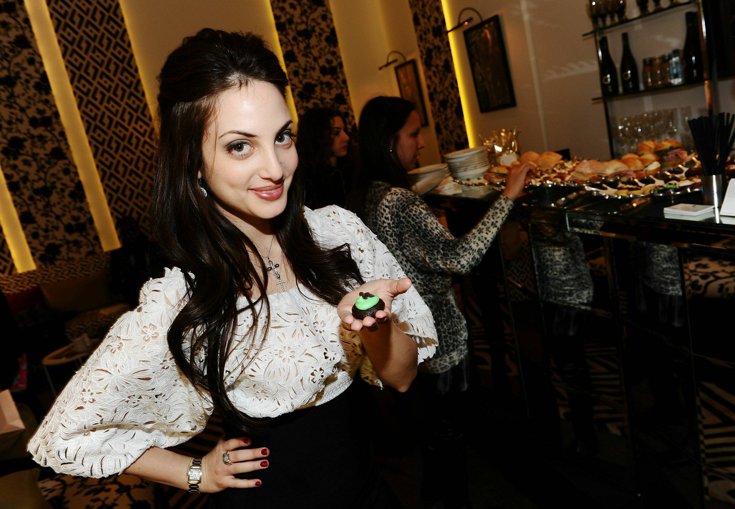 Alexa Ray Joel Inside the Star Lounge by DVF