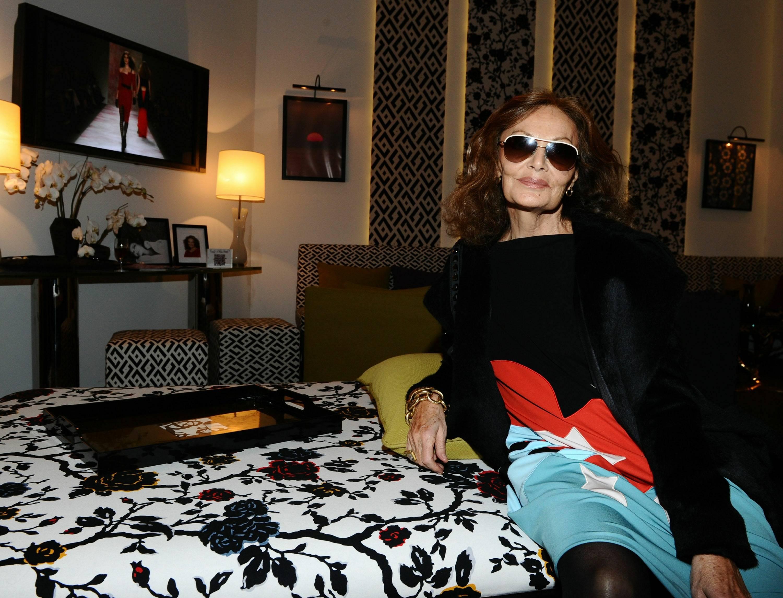 DVF inside star lounge