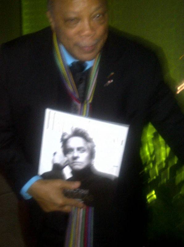 Quincy Jones with Haute Living at Jamie Foxx grammy party