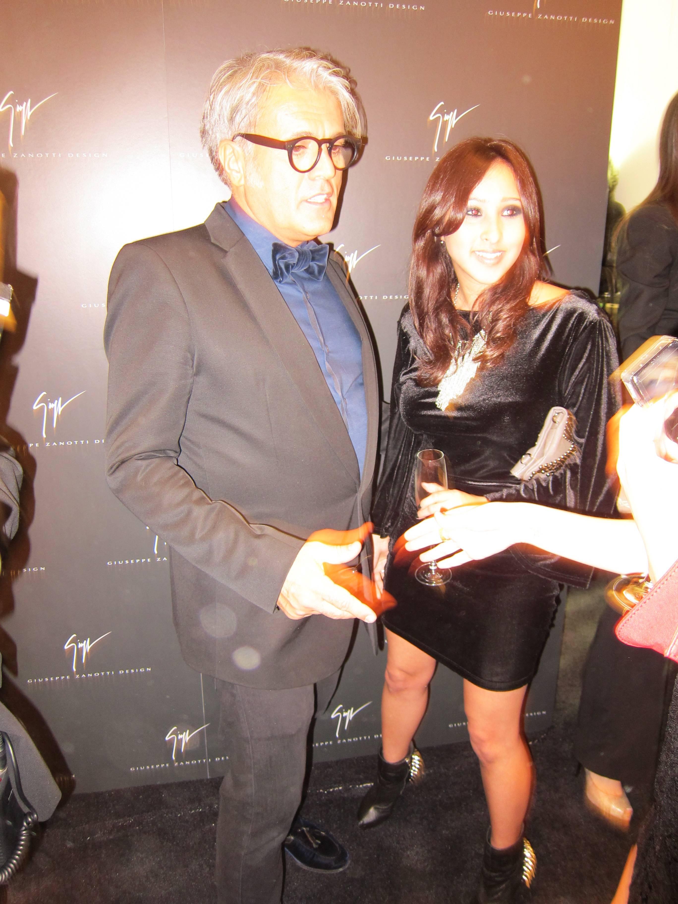 Giuseppe Zanotti and Guest
