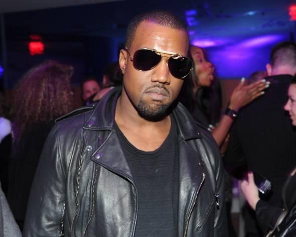Kanye West SoHo Morgans Mondrian Hotel V Man Party