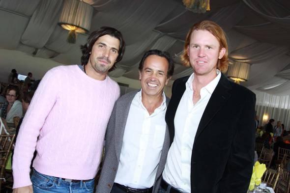 Nacho Figueras, Carolos Morrison, Kris Kampsen