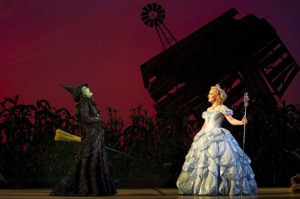 Natalie Daradich and Anne Brummel in Wicked (c) Joan Marcus