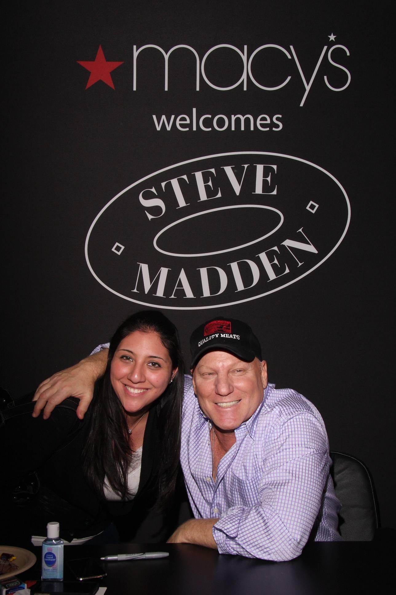Steve Madden with Fan