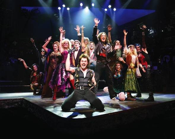 The Cast of Rock of Ages (c) Joan Marcus