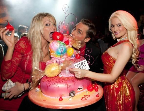 Tryst - Angel, Josh, Holly - cake