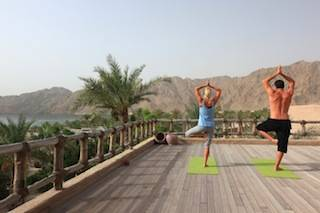 Yoga at Six Senses Spa