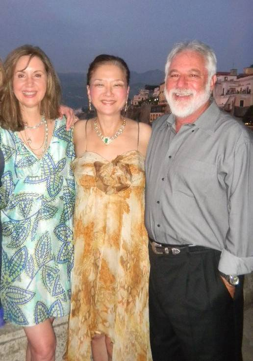 cavallo point lodge owner and partner mike freed with wife Lydia Graham