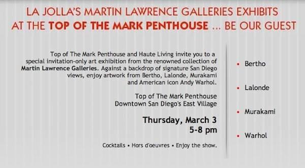 the mark invite