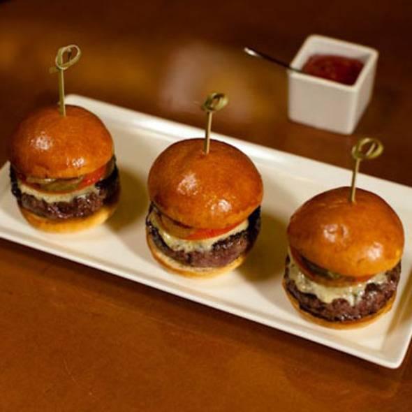 Petite Kobe Sliders Caramel Restaurant Dubai