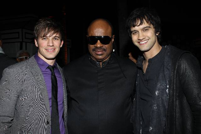 matt lanter, stevie wonder, michael steger