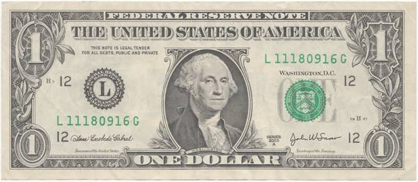 washington dollar