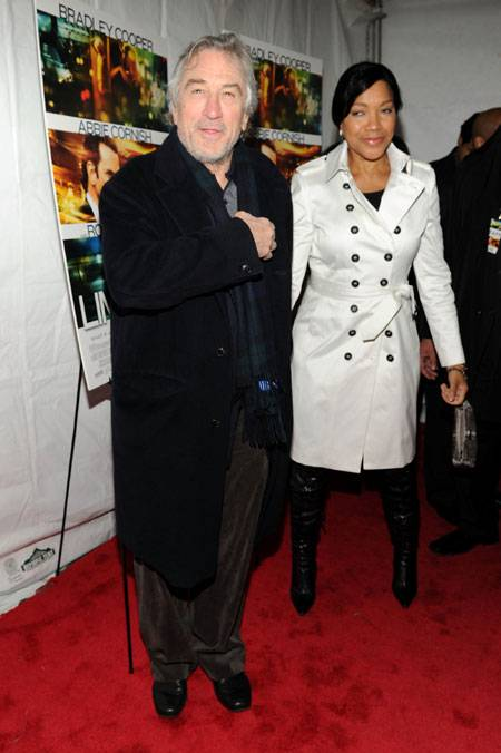 Actor Robert De Niro and Grace Hightower attend Relativity Media's world premiere of