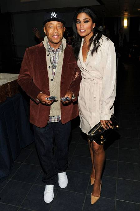 Russell Simmons and designer Rachel Roy attend Relativity Media's world premiere of
