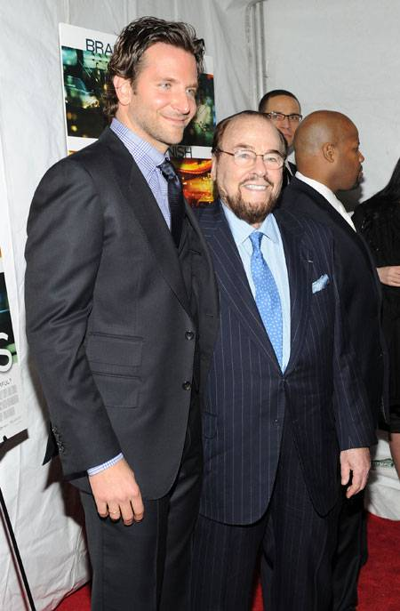 Actor Bradley Cooper and James Lipton attends Relativity Media's world premiere of
