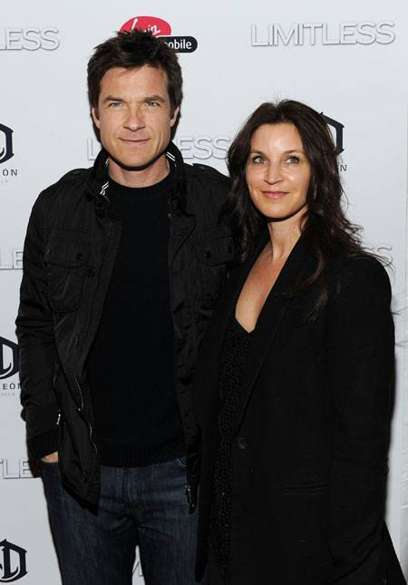 Jason Bateman and Amanda Anka attend Relativity Media's world premiere of