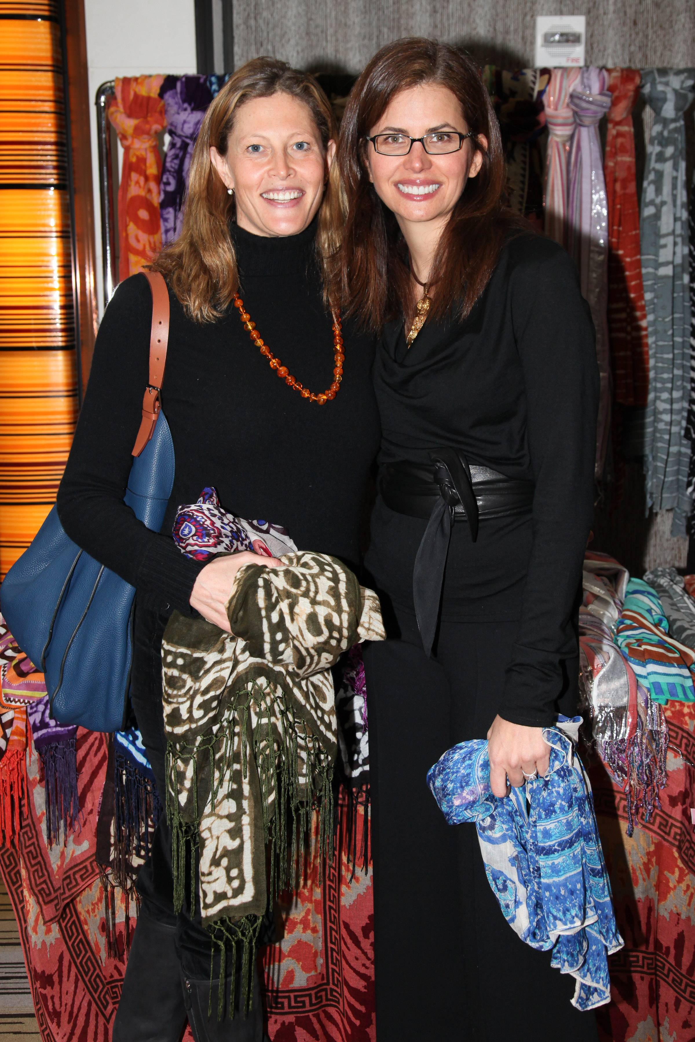 Anna Chapman, Desiree Gruber Theodora & Callum event benefitting Baby Buggy