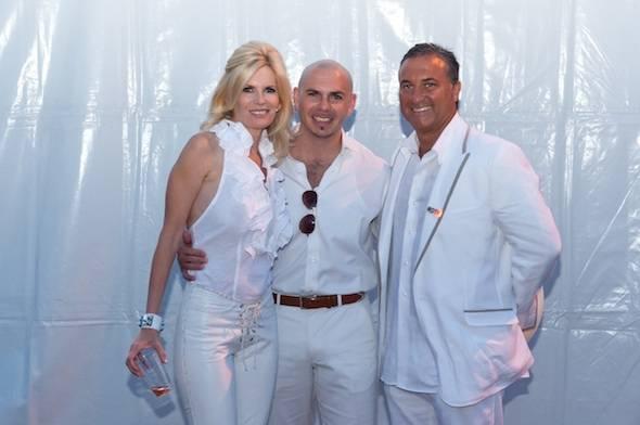 Byron & Susan Roth with Pitbull small