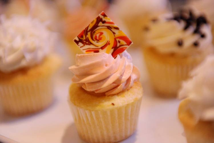 Cupcake at Dylan Lauren's book signing at ONE Bal Harbour