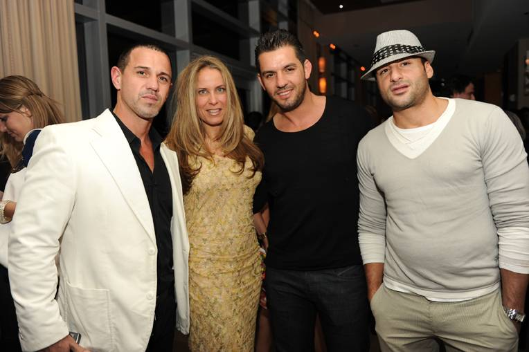 Hernan-Arriaga,-Yolanda-Colindres,-Fabio-Lopez-and-Joulian-Chevat-at-Dylan-Lauren's-book-signing-at-ONE-Bal-Harbour