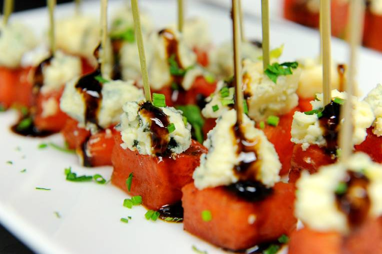 Hors-d'oeuvres-at-Dylan-Lauren's-book-signing-at-ONE-Bal-Harbour