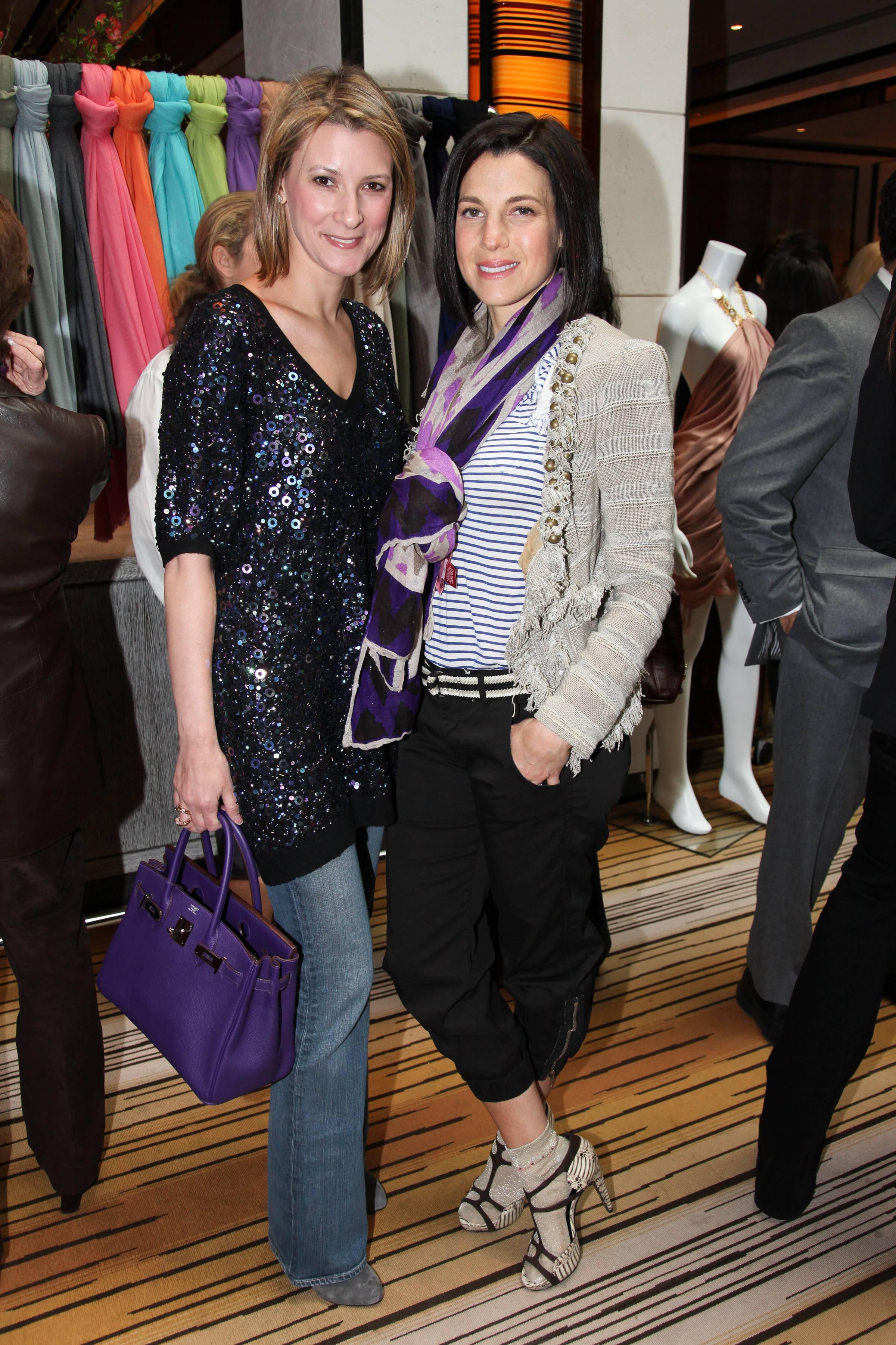 Lizzie Tisch, Jessica Seinfeld Theodora & Callum event benefitting Baby Buggy