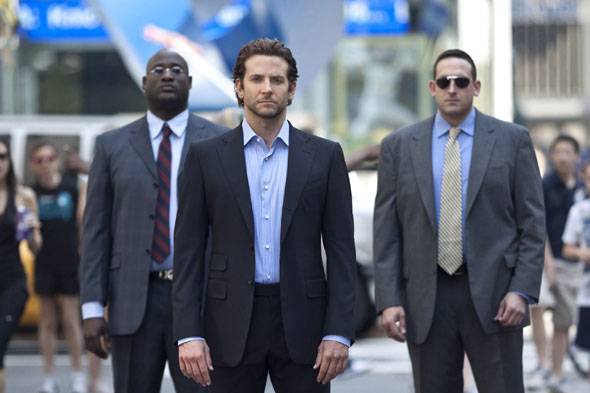 Bradley Cooper (center) stars in Relativity Media's LIMITLESS.