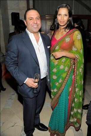 Madame Paulette President John Mahdessian and Co-Founder Padma Lakshmi