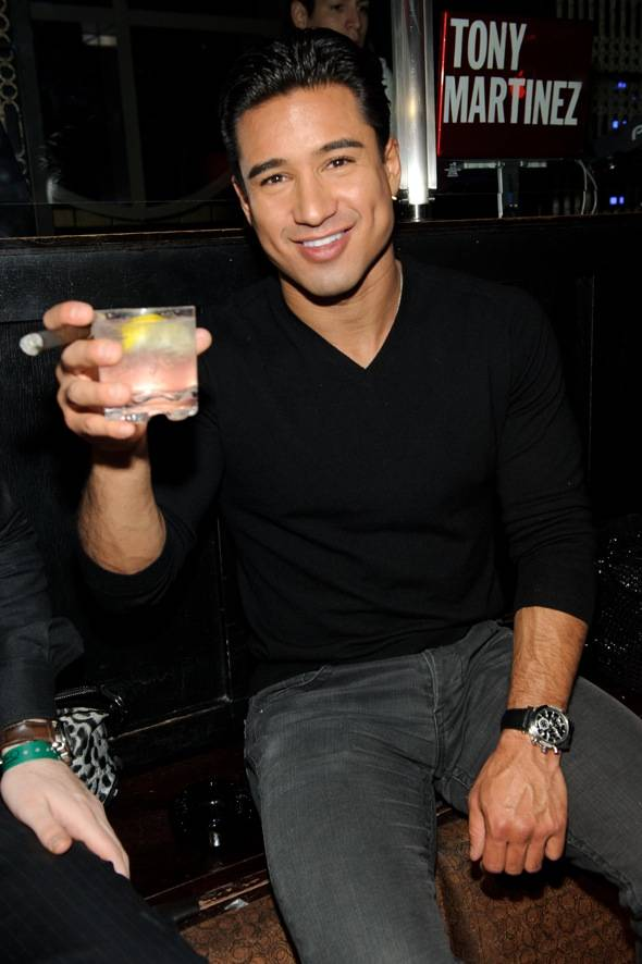 Mario Lopez at LAVO
