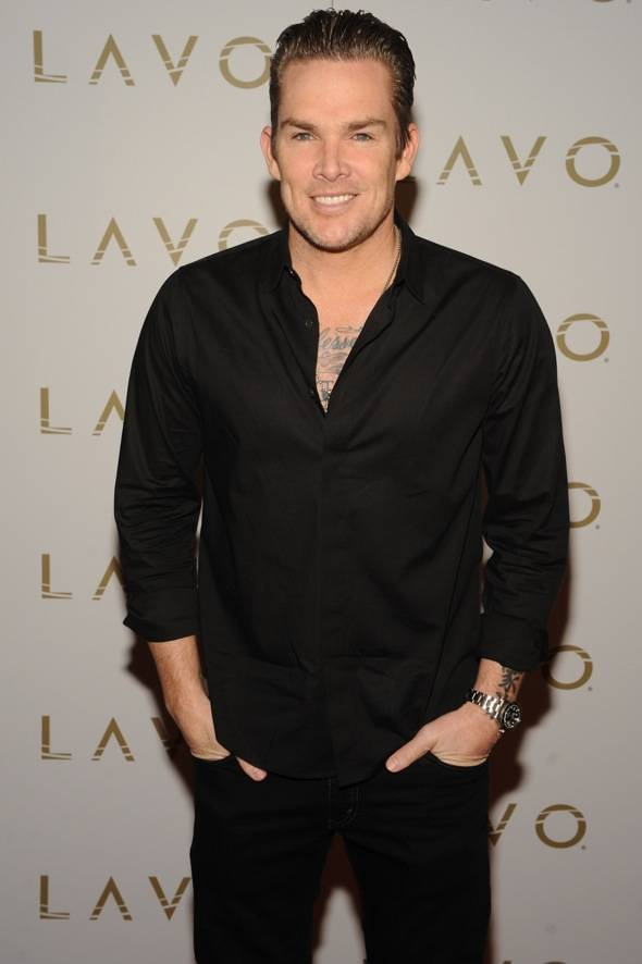 Mark McGrath LAVO red carpet