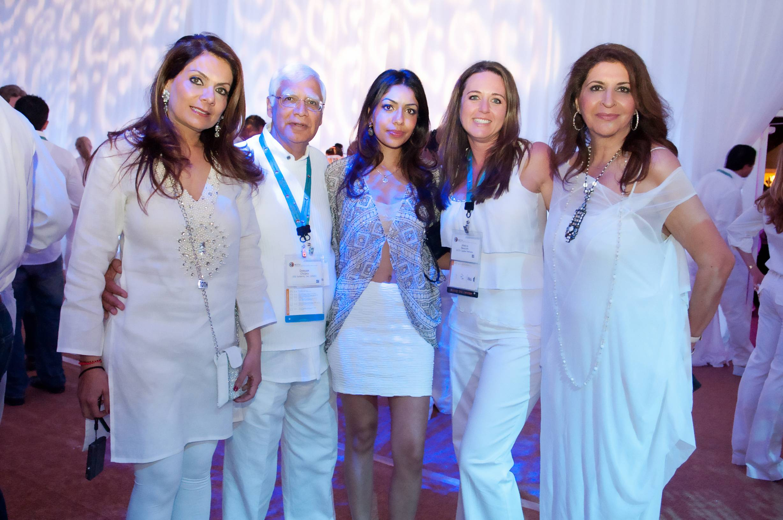 Nandini, Deepak & Deepika Chopra, Jessican Baucom & Lili Shadab