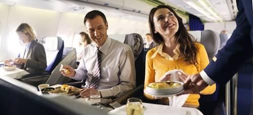 Onboard food service