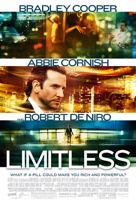 Poster Ad for film LIMITLESS