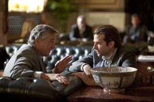Robert De Niro and Bradley Cooper star in Relativity Media's LIMITLESS