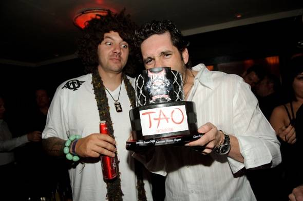 Skyskrape and Elliott Sadler at TAO